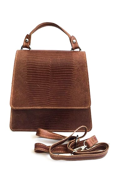 ANOUSHKA (SACS) bolsa de couro trabeze CIFA FASHION