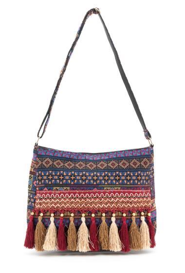 Shopping bag. Largeur x Longueur x Hauteur : 11x40x30 cm