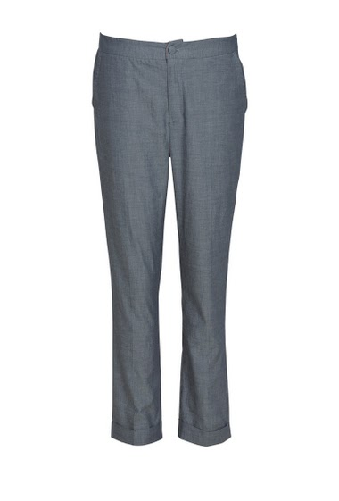 Pant  with front and back pockets,  lower leg cuffs