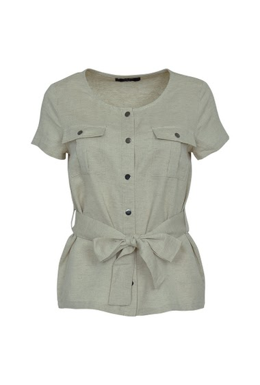 Saharan short sleeve jacket