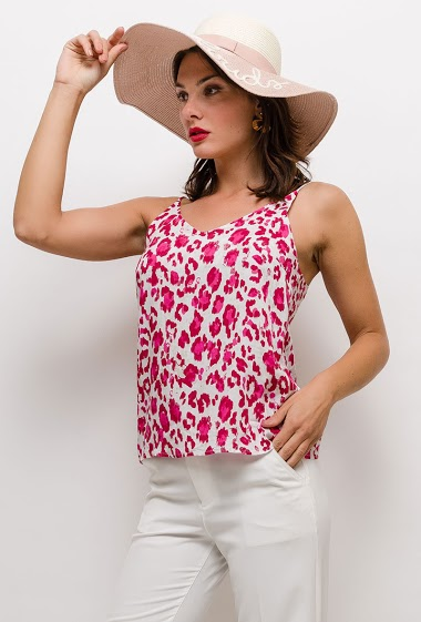 The model measures 175cm and wears S. Length:65cm