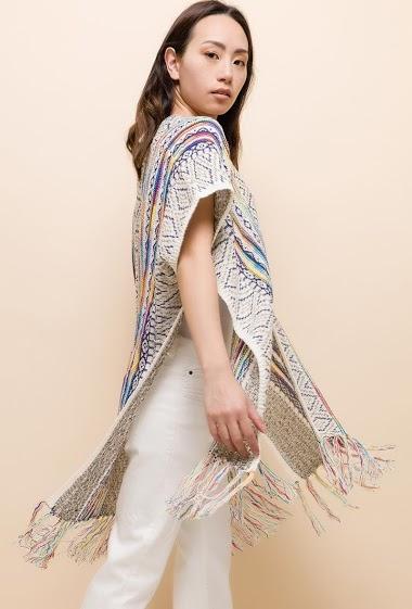 CIAO MILANO patterned vest CIFA FASHION