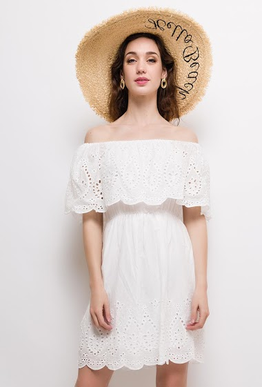 CIAO MILANO vestido boêmio AUBERVILLIERS FASHION