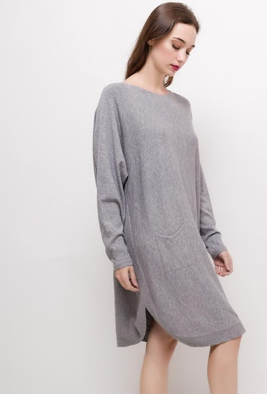 Casual knit dress