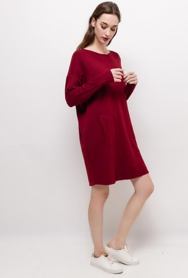 Casual knit dress