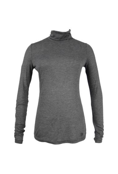 Long sleeves basic turtleneck T-shirt