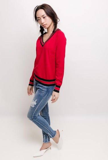 The model measures 170cm and wears S/M  Length : 62cm