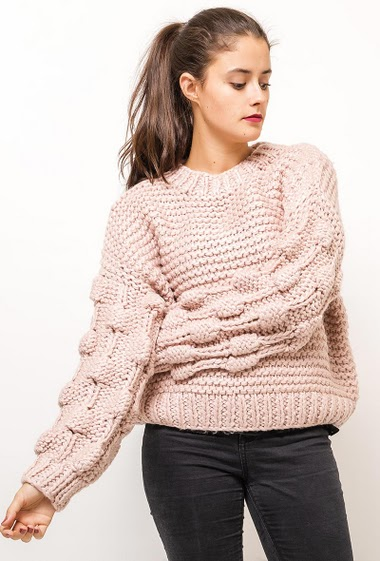 The model measures 172cm, one size corresponds to 10/12(UK) 38/40(FR). Length:60cm