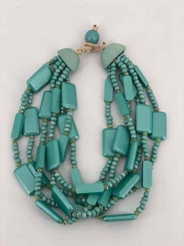 Short Wooden Necklace