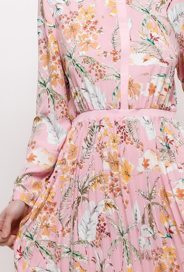 Cristina - Robe plissée