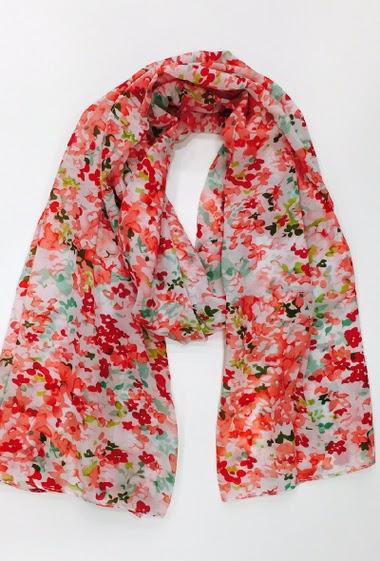 65*180 cm Fibre synthétique se rapprochant de la soie ( polyester ) Vendu par 10 couleurs assortis