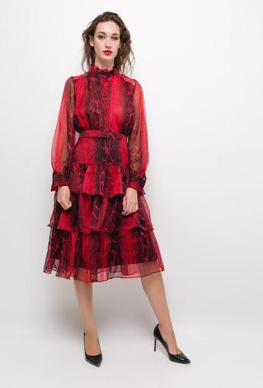 Dress with python print