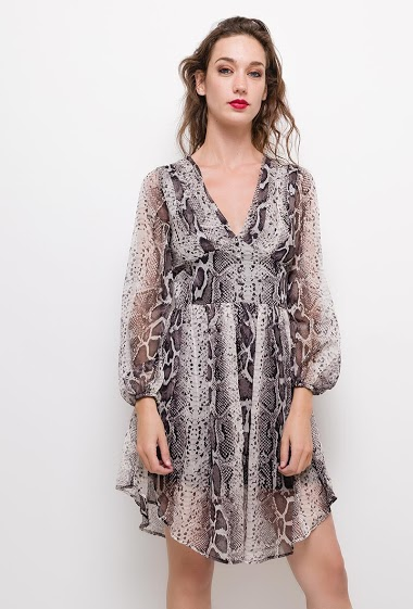 Dress with python print