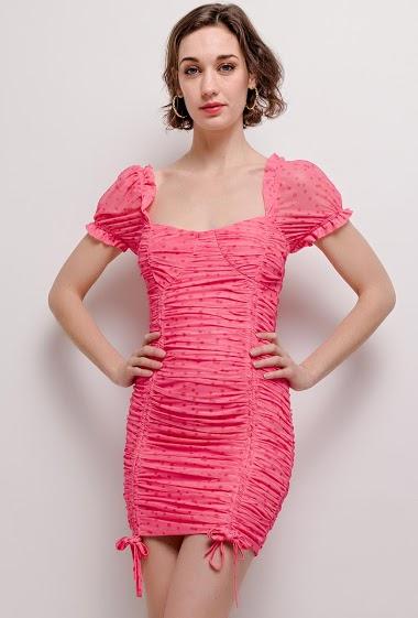 Drapped slim dress