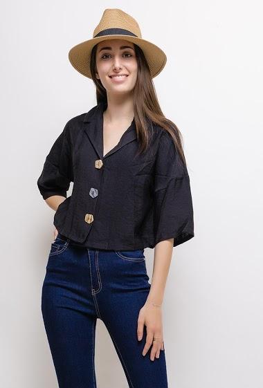 DAYSIE buttoned blouse CIFA FASHION
