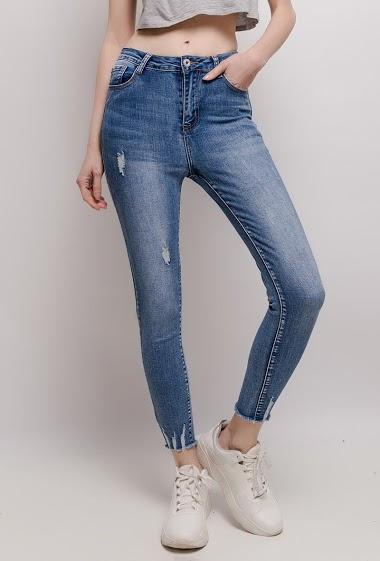 DAYSIE versleten skinny jeans CIFA FASHION