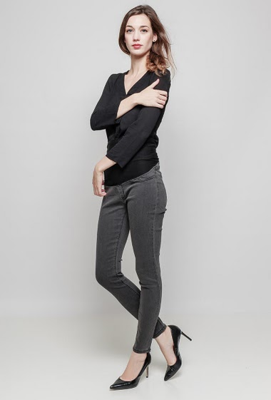 Leggings. The model measures 177 cm and wears 36/S