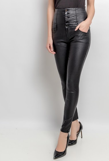 DAYSIE leatherette trousers CIFA FASHION