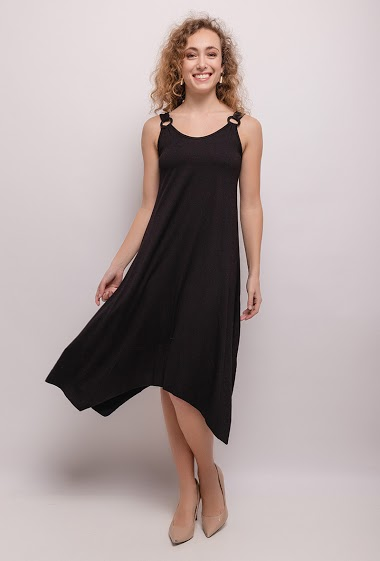 Midi jersey dress