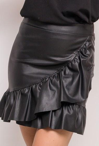 EIGHT PARIS ruffle skirt FASHION CENTER