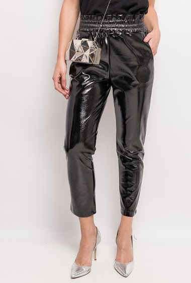 Vinyl pants