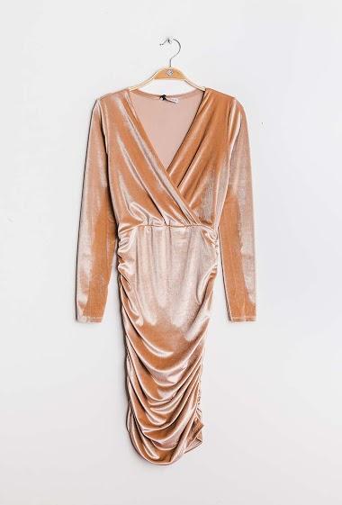 EIGHT PARIS velvet dress FASHION CENTER