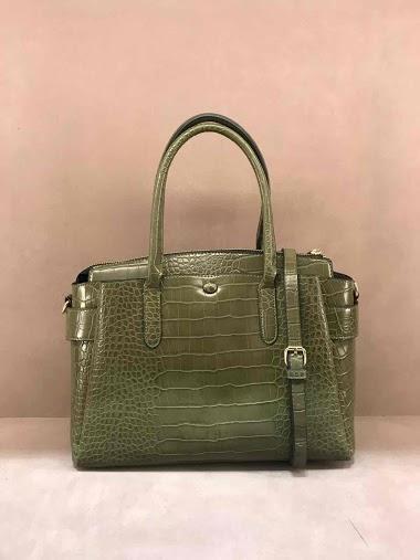 Croco handbag