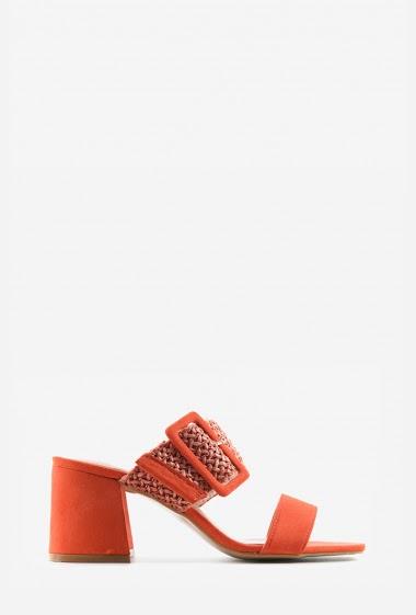 Sandales | Matière(s): P.U | Semelle intérieur: Tissu | Marques: Erynn | Semelle extérieur: P.U