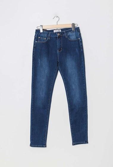 ESTEE BROWN jeans reta CIFA FASHION