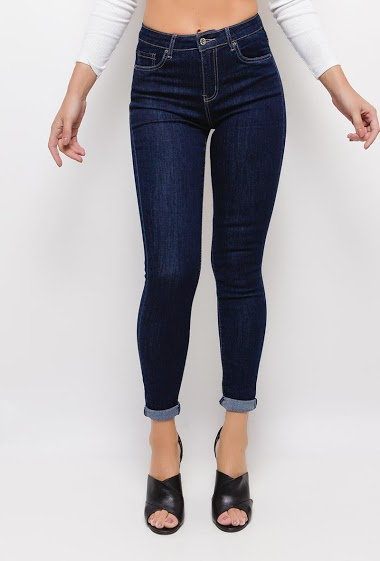 ESTEE BROWN jean skinny stretch CIFA FASHION