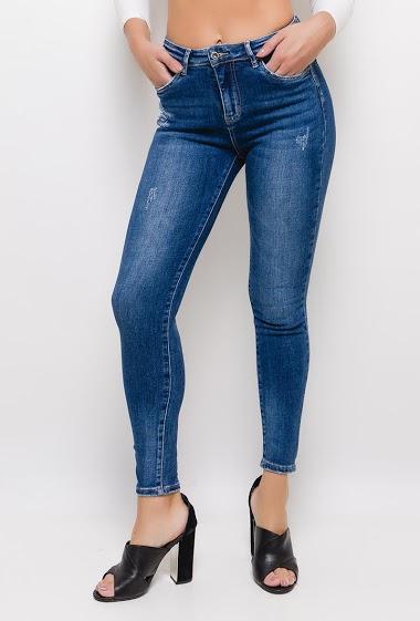 ESTEE BROWN worn skinny jeans CIFA FASHION