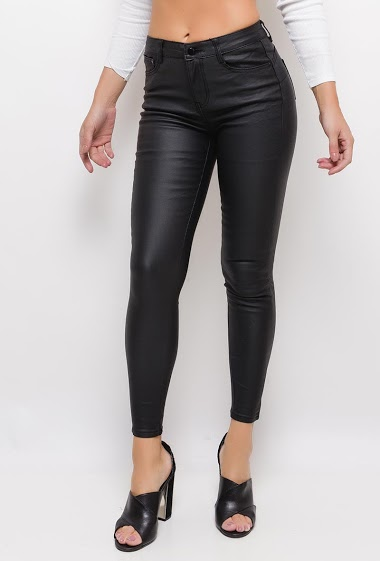 ESTEE BROWN skinny trousers coated with push up CIFA FASHION