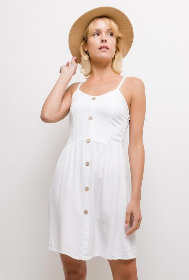 The model measures 177cm, one size corresponds to 10/12(UK) 38/40(FR). Length:90cm
