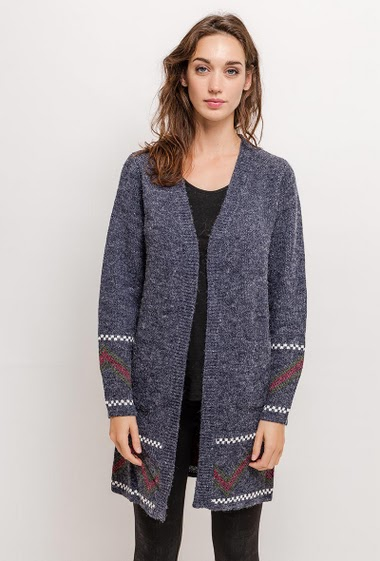 Gilet long AUDREY - For Her Paris