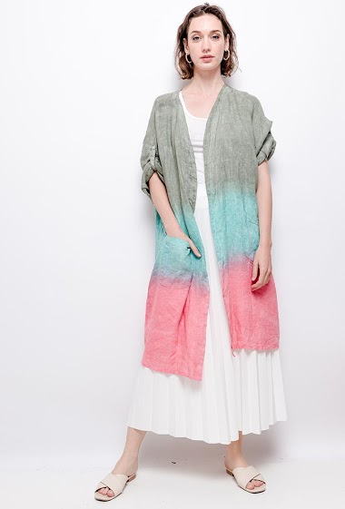 gilet tie and dye - For Her Paris