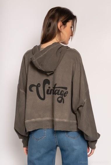 Plain oversized waistcoat - For Her Paris