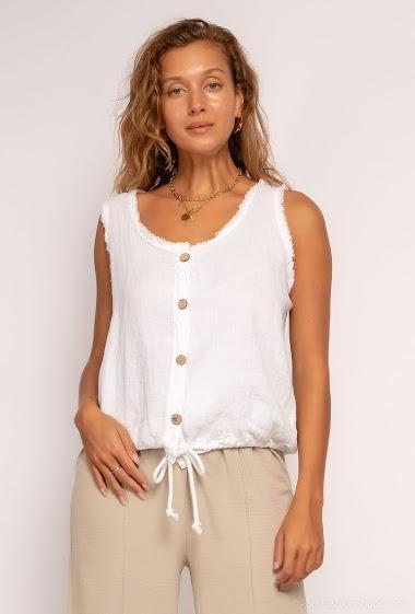 Sleeveless vest - For Her Paris