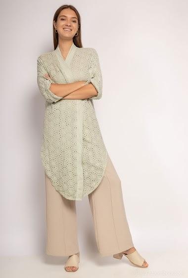 Lurex plain tank top dress - For Her Paris