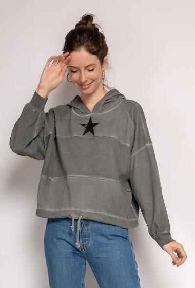 plain oversize top Star - For Her Paris