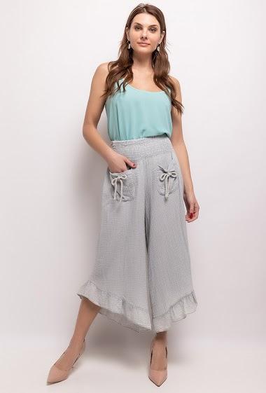 Pantalon 100% coton - For Her Paris