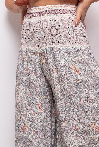 Printed trousers - For Her Paris