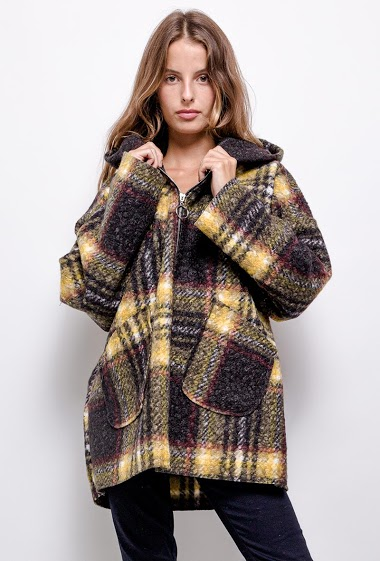 printed oversized coat - For Her Paris
