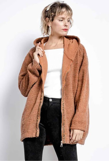 manteau uni oversize - For Her Paris