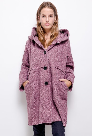 plain coat oversize - For Her Paris