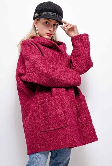 plain coat oversize - For Her Paris