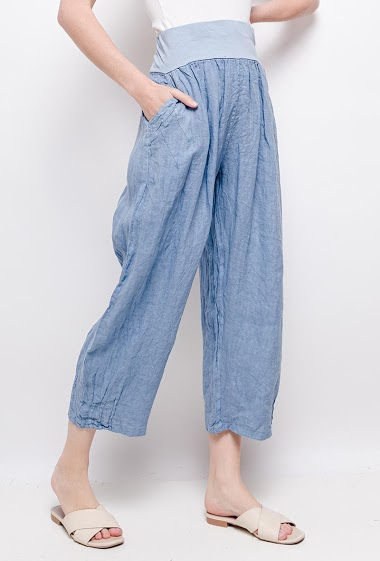 Short Big Size Trousers - For Her Paris