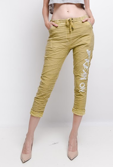 plain cotton ruffled trousers Dream - For Her Paris