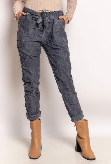 pantalon froissé - For Her Paris