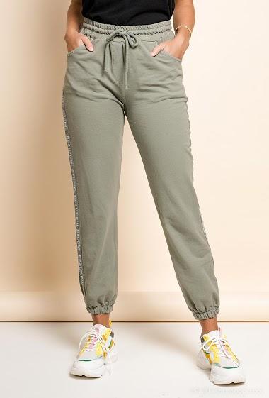 pantalon jogging en coton - For Her Paris
