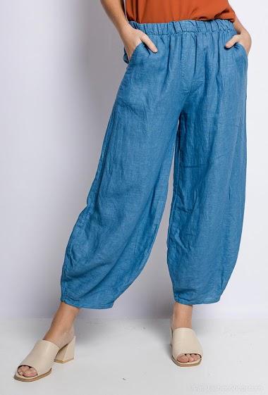 Linen / Cotton Pants - For Her Paris